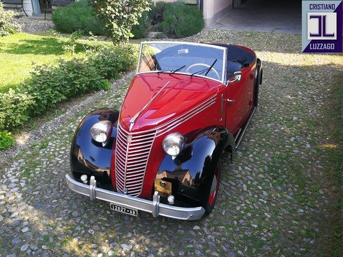 "1947 FIAT 1100 ""STELLA ALPINA CABRIOLET"" MONVISO 1000 miglia For Sale (picture 2 of 6)"