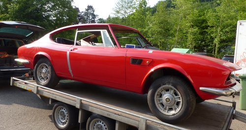 1970 Fiat Dino Coupé 2400 project-car, engine overhauled For Sale (picture 2 of 6)