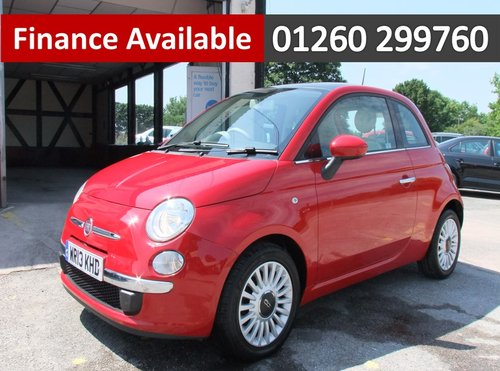 2013 FIAT 500 1.2 LOUNGE 3DR SOLD (picture 1 of 6)