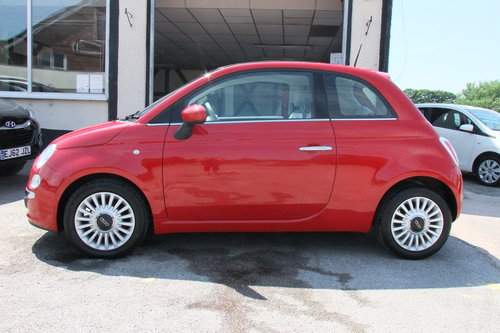2013 FIAT 500 1.2 LOUNGE 3DR SOLD (picture 2 of 6)