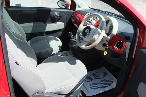 2013 FIAT 500 1.2 LOUNGE 3DR SOLD (picture 6 of 6)