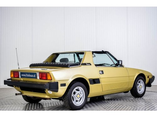 1981 Fiat X 1/9 1500  For Sale (picture 2 of 6)