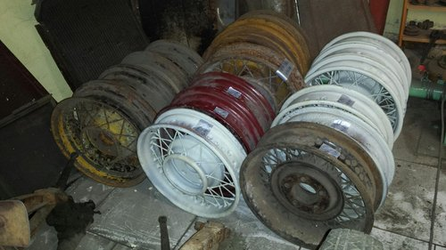 1930 spoked wheels For Sale (picture 1 of 6)