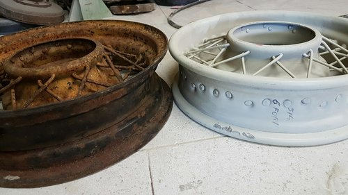 1930 spoked wheels For Sale (picture 3 of 6)