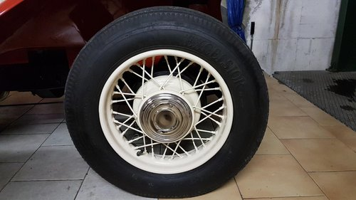 1930 spoked wheels For Sale (picture 4 of 6)