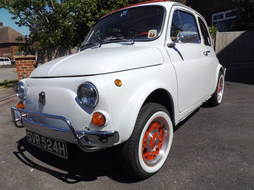 Fiat 500 Lusso 1970 left hand drive - FULL restoration For Sale (picture 1 of 1)