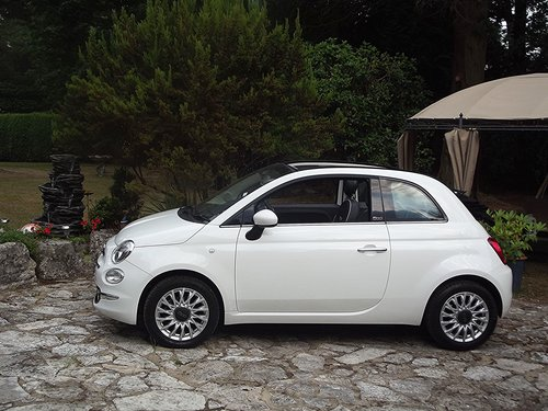 2016 FIAT 500 LOUNGE CONVERTIBLE SOLD (picture 1 of 6)