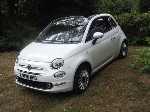 2016 FIAT 500 LOUNGE CONVERTIBLE SOLD (picture 6 of 6)