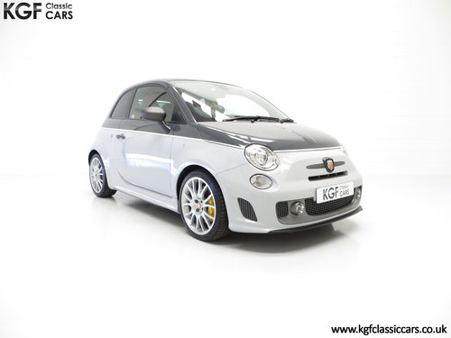 2015 A Snarling Fiat 500C Abarth 595 Competizione 180HP SOLD (picture 1 of 6)