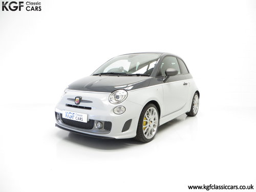 2015 A Snarling Fiat 500C Abarth 595 Competizione 180HP SOLD (picture 2 of 6)