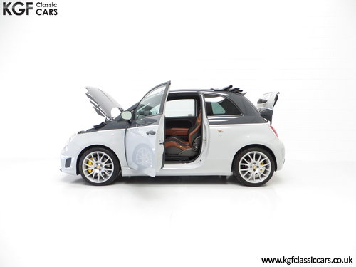 2015 A Snarling Fiat 500C Abarth 595 Competizione 180HP SOLD (picture 3 of 6)