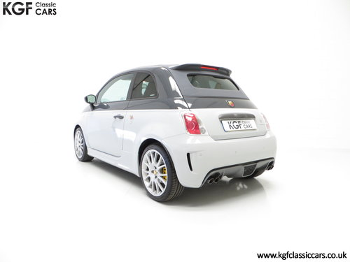 2015 A Snarling Fiat 500C Abarth 595 Competizione 180HP SOLD (picture 4 of 6)