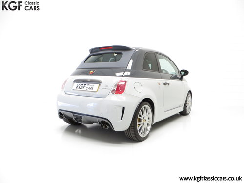 2015 A Snarling Fiat 500C Abarth 595 Competizione 180HP SOLD (picture 5 of 6)