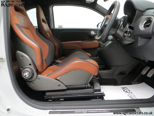 2015 A Snarling Fiat 500C Abarth 595 Competizione 180HP SOLD (picture 6 of 6)