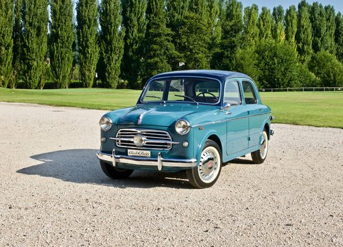 1954 Fiat 100 TV -Completely restored- MM Elegible  For Sale (picture 1 of 6)