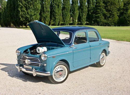 1954 Fiat 100 TV -Completely restored- MM Elegible  For Sale (picture 3 of 6)