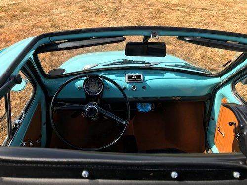 1975 Fiat 500R round speedo in baby blue SOLD (picture 5 of 6)