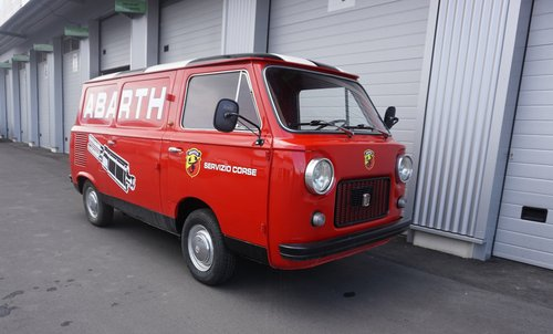 1968 FIAT 850T Abarth Corse Service Car (look) SOLD (picture 1 of 6)