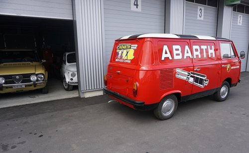 1968 FIAT 850T Abarth Corse Service Car (look) SOLD (picture 2 of 6)