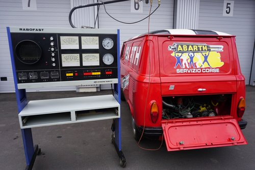 1968 FIAT 850T Abarth Corse Service Car (look) SOLD (picture 5 of 6)