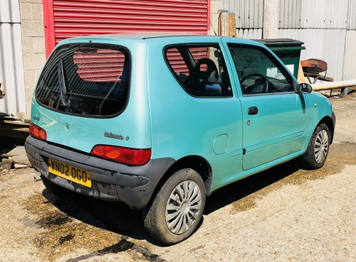 Fiat Seicento S 1.1 2002 manual swap px For Sale (picture 3 of 4)