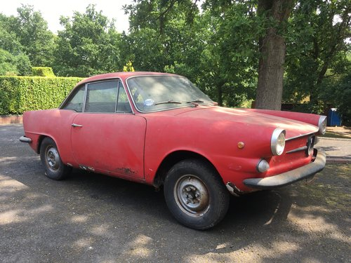 1964 Fiat 750 Vignale Coupe For Sale (picture 1 of 6)