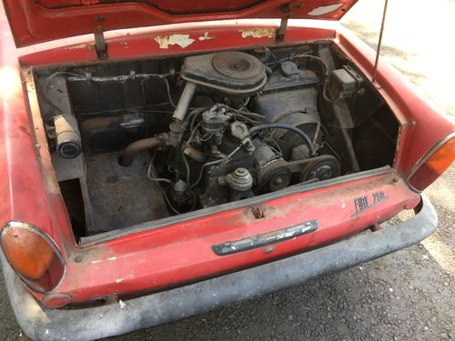 1964 Fiat 750 Vignale Coupe For Sale (picture 4 of 6)