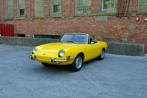 1972 Fiat 850 Sport Spider, Extremely Well-Preserved,  For Sale (picture 1 of 6)