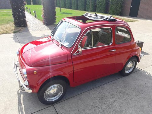 FIAT 500 L 1972 RED PERFECT CONDITION RESTORED SOLD (picture 1 of 6)