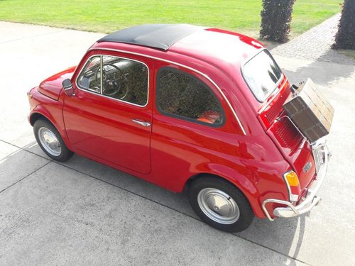 FIAT 500 L 1972 RED PERFECT CONDITION RESTORED SOLD (picture 3 of 6)