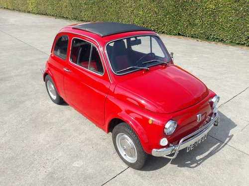 FIAT 500 L 1972 RED PERFECT CONDITION RESTORED SOLD (picture 6 of 6)