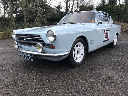 1965 Fiat 2300S Abarth Coupe Currently Stolen / Missing  (picture 1 of 6)