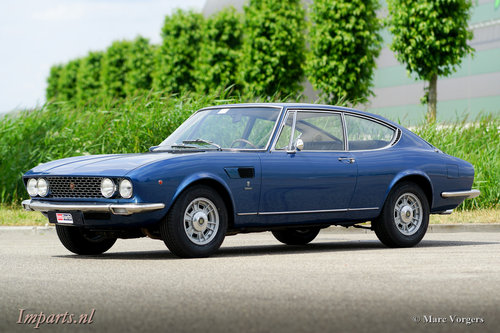 1967 Unique Fiat Dino 2000 LHD For Sale (picture 1 of 6)