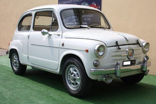 ABARTH 850 TC NURBURGRING REPLICA ON BASE FIAT 600 OF 1961 For Sale (picture 1 of 6)