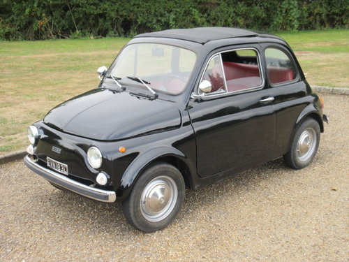1973 Fiat 500 R At Aca 25th August 2018 Sold Car And Classic