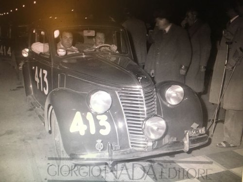 1949 Fiat 6C Ex Mille Miglia 1949/50 Guilio Cabianca! Sold! SOLD (picture 1 of 3)