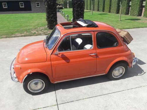 FIAT 500 L 1970 red PERFECT CONDITION RESTORED For Sale (picture 1 of 6)