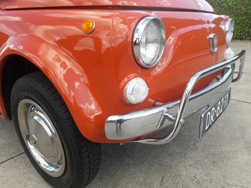 FIAT 500 L 1970 red PERFECT CONDITION RESTORED For Sale (picture 3 of 6)