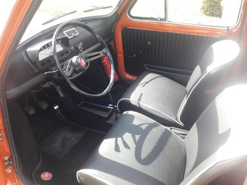 FIAT 500 L 1970 red PERFECT CONDITION RESTORED For Sale (picture 5 of 6)