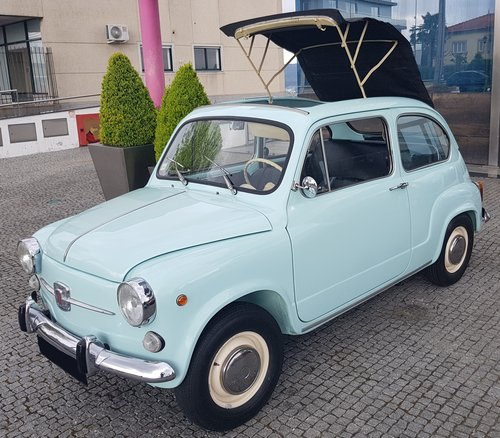 Fiat 600 Opening Ceiling - 1972 For Sale (picture 1 of 6)
