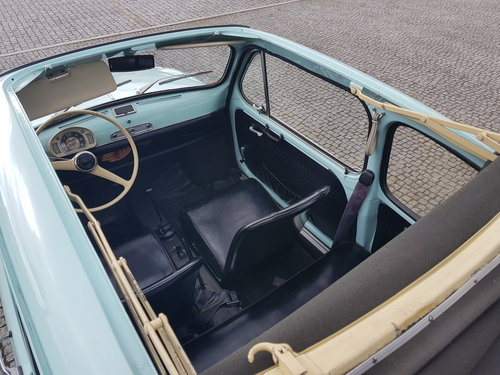 Fiat 600 Opening Ceiling - 1972 For Sale (picture 2 of 6)