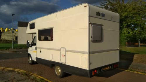 1998 LEFT HAND DRIVE FIAT 1.9 JTD AUTOSLEEPER - MOT APRIL 19 SOLD (picture 2 of 6)