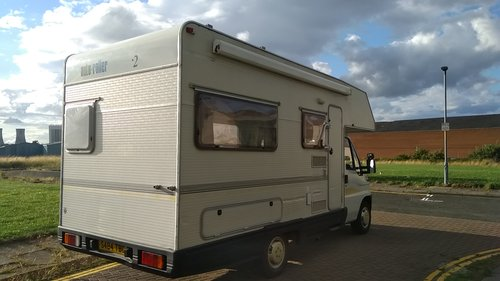 1998 LEFT HAND DRIVE FIAT 1.9 JTD AUTOSLEEPER - MOT APRIL 19 SOLD (picture 3 of 6)