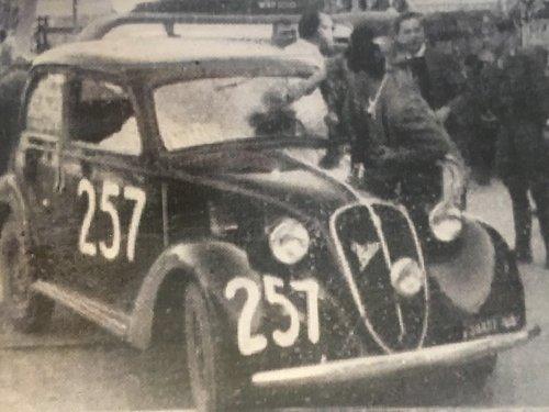 1939 Fiat 508C Ex Mille Miglia 47/1948 SOLD (picture 4 of 5)