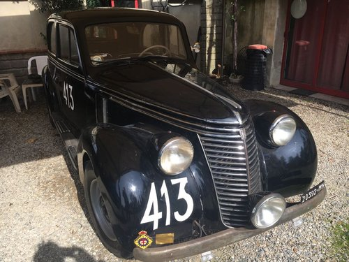 1949 Fiat 6C Ex Mille Miglia 1949/50 Guilio Cabianca! Sold! SOLD (picture 2 of 3)