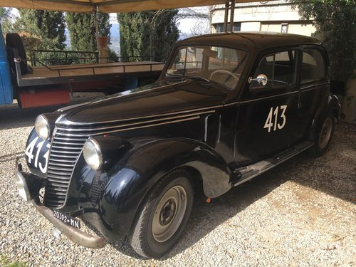 1949 Fiat 6C Ex Mille Miglia 1949/50 Guilio Cabianca! Sold! SOLD (picture 3 of 3)