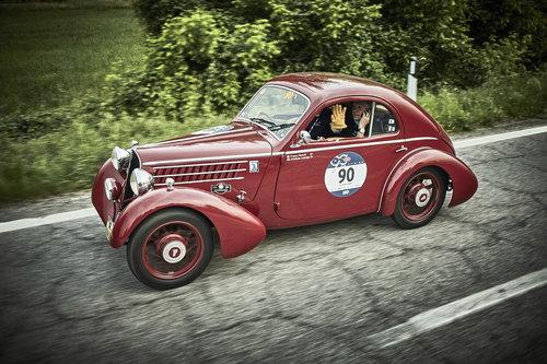 EXCEPTIONAL 1935 FIAT 508 CS BERLINETTA 1000 MIGLIA  For Sale (picture 1 of 6)