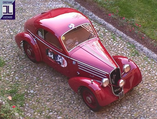 EXCEPTIONAL 1935 FIAT 508 CS BERLINETTA 1000 MIGLIA  For Sale (picture 2 of 6)