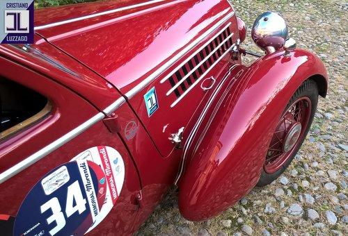 EXCEPTIONAL 1935 FIAT 508 CS BERLINETTA 1000 MIGLIA  For Sale (picture 4 of 6)