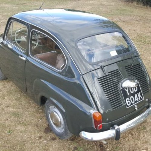 1971 Fiat 600 For Sale (picture 2 of 6)